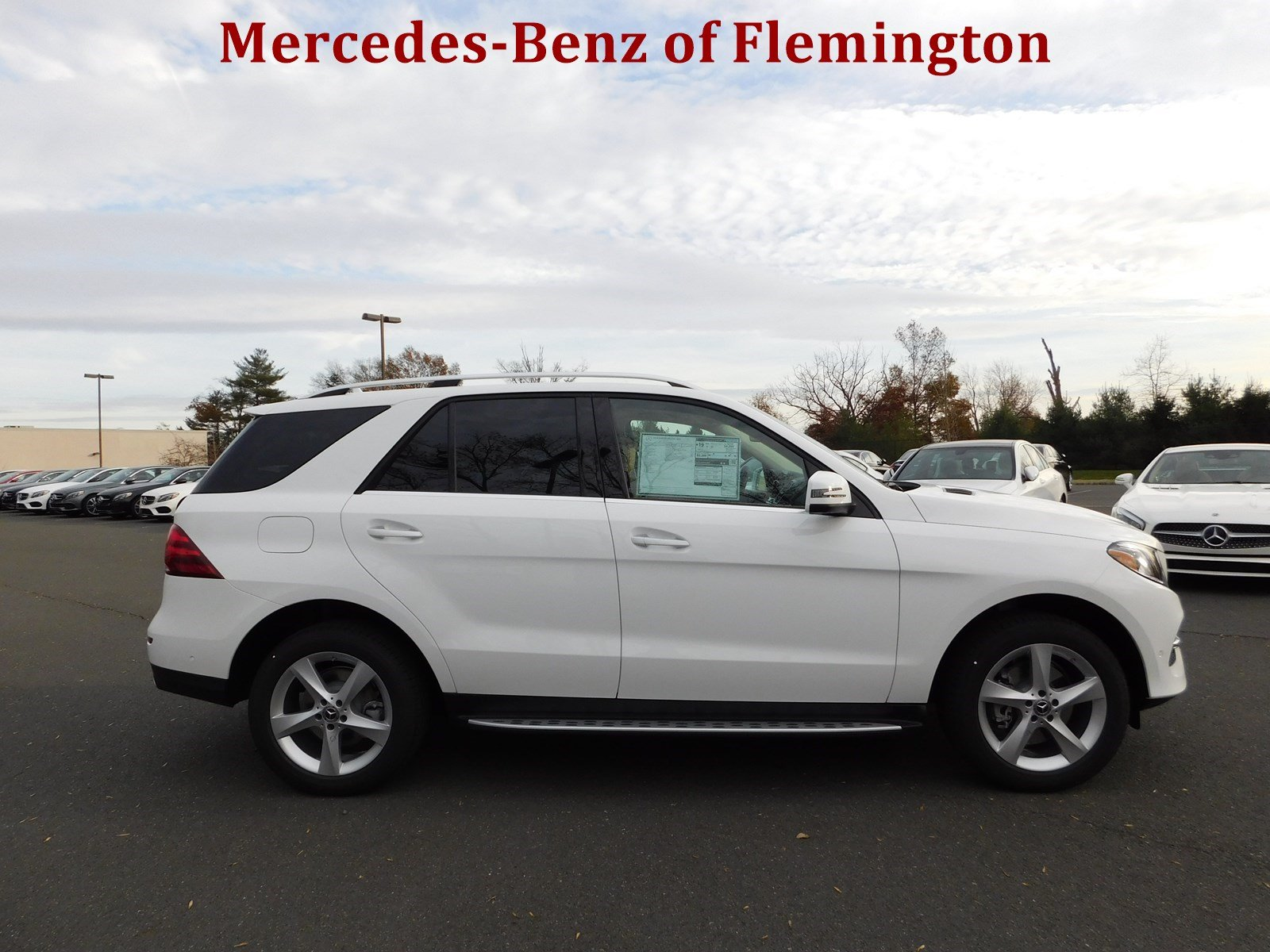 New 2018 mercedes benz gle gle 350 suv in flemington for Mercedes benz financial contact number