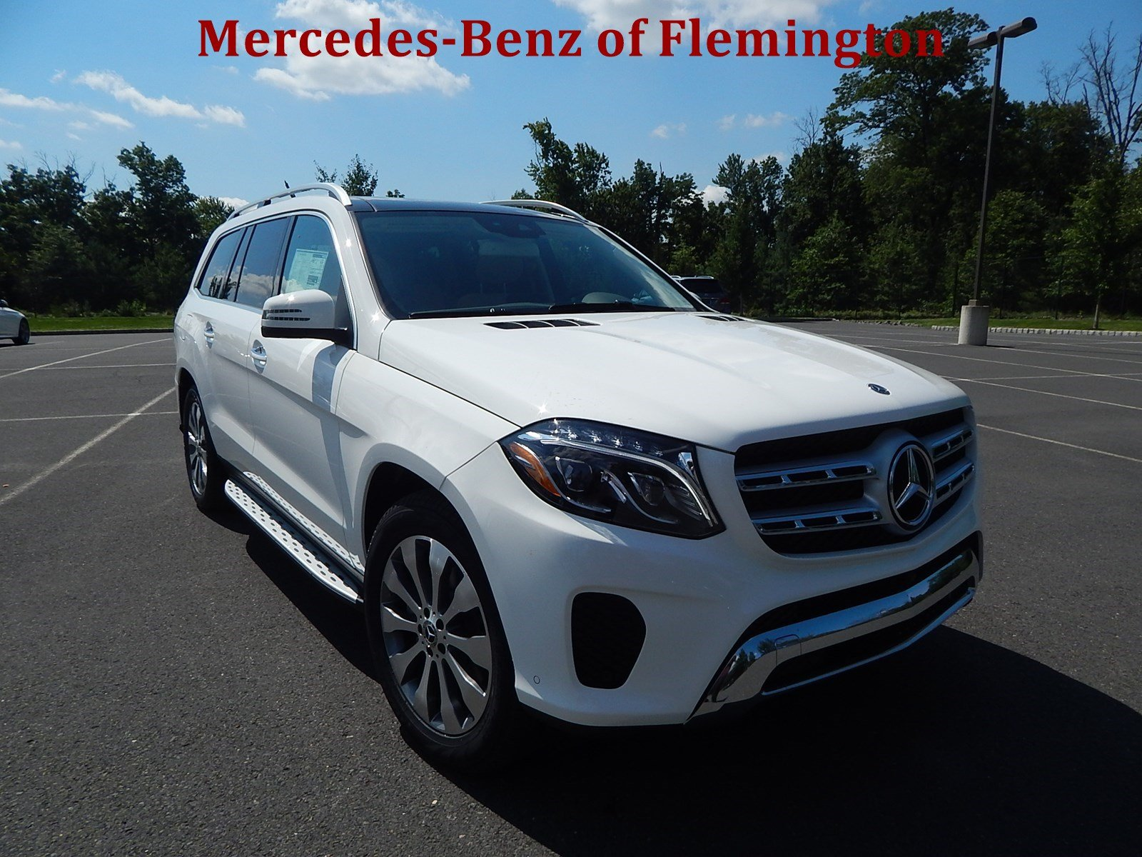 New 2018 mercedes benz gls gls 450 suv in flemington for Mercedes benz of flemington