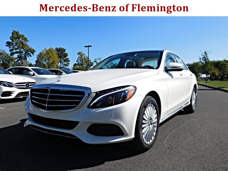 New 2017 mercedes benz c class c 300 luxury sedan in for Mercedes benz of flemington