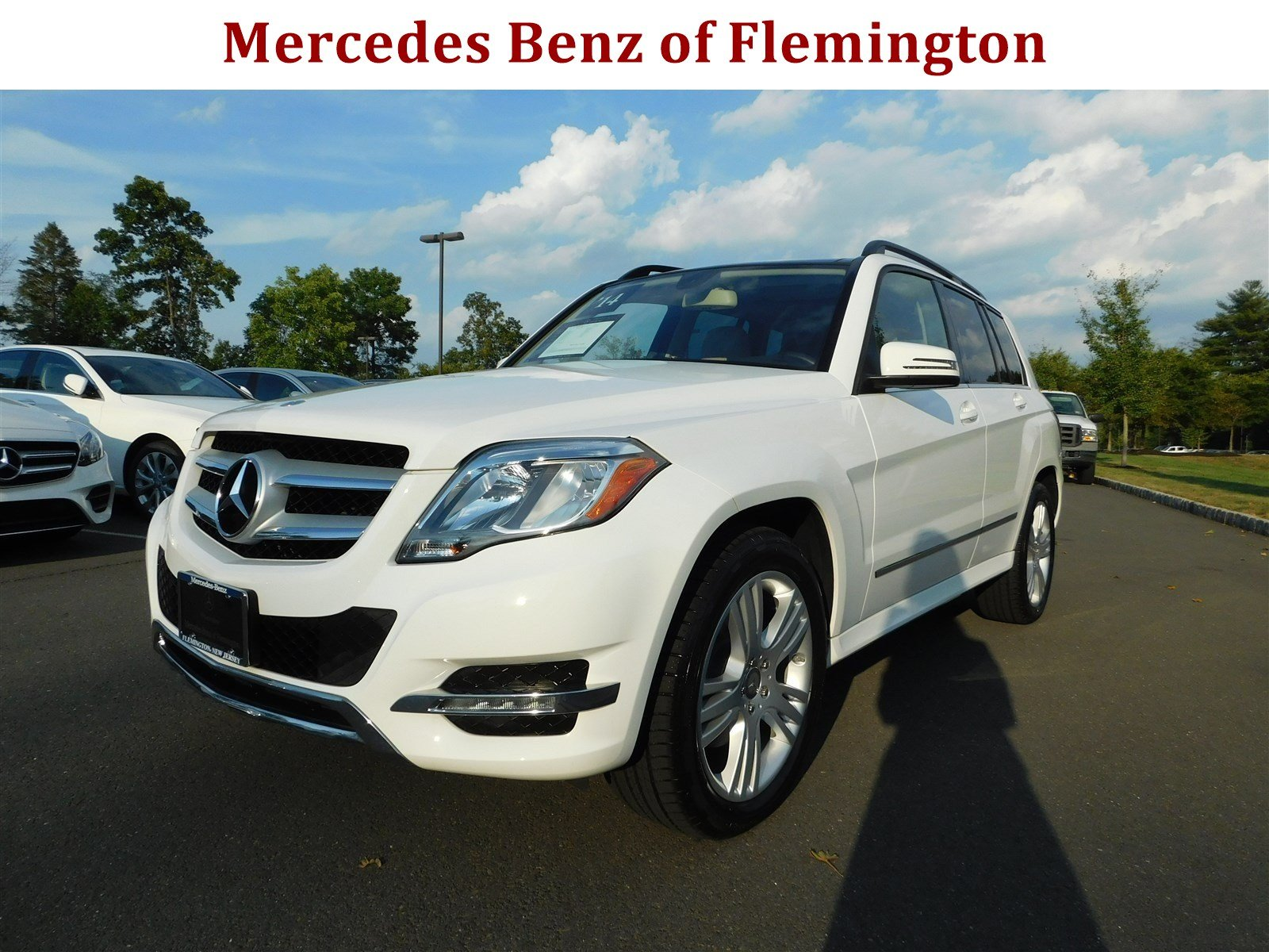Certified pre owned 2014 mercedes benz glk glk 350 suv in for Mercedes benz of flemington
