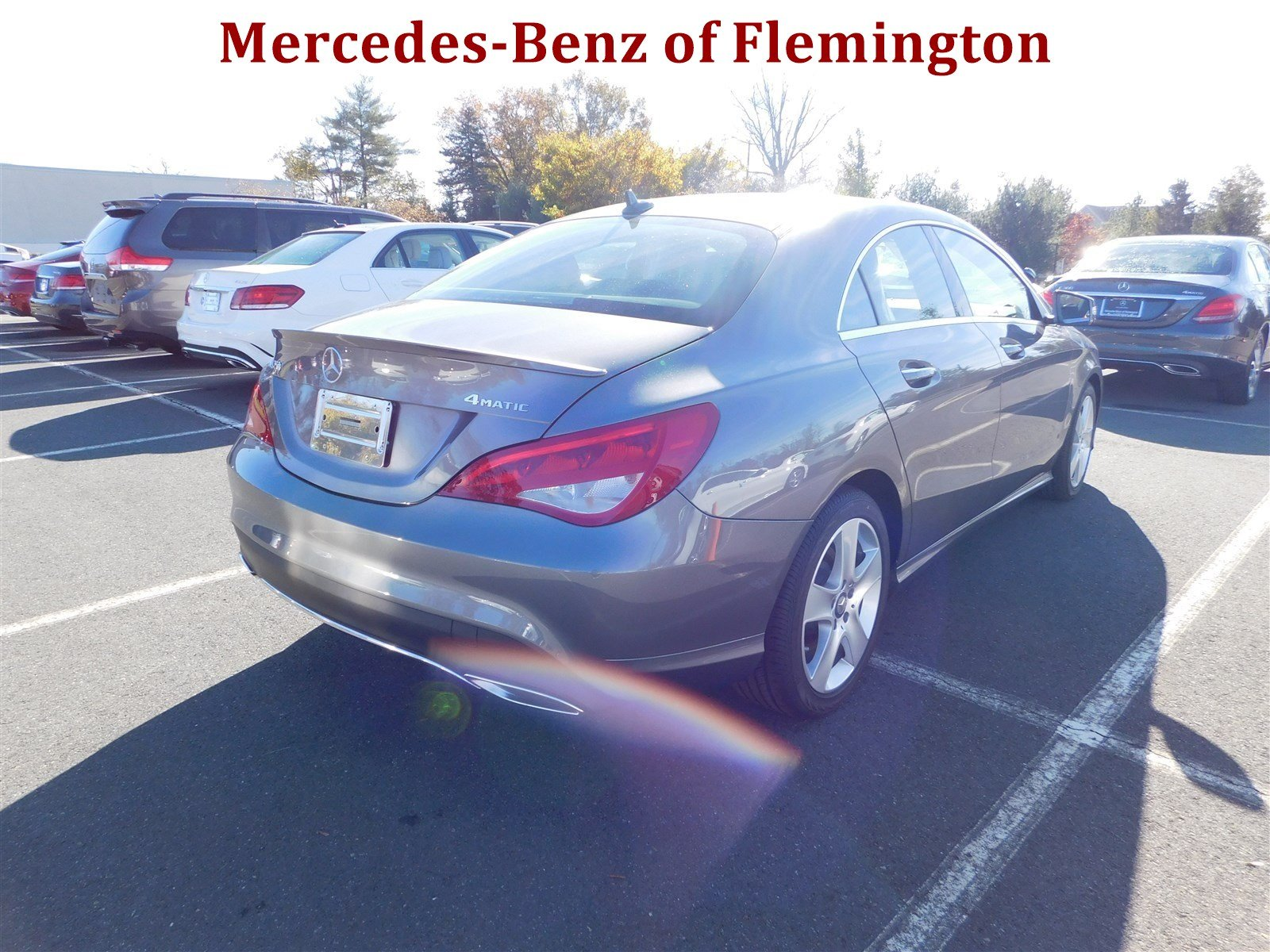 New 2017 mercedes benz cla cla 250 coupe in flemington for Mercedes benz of flemington