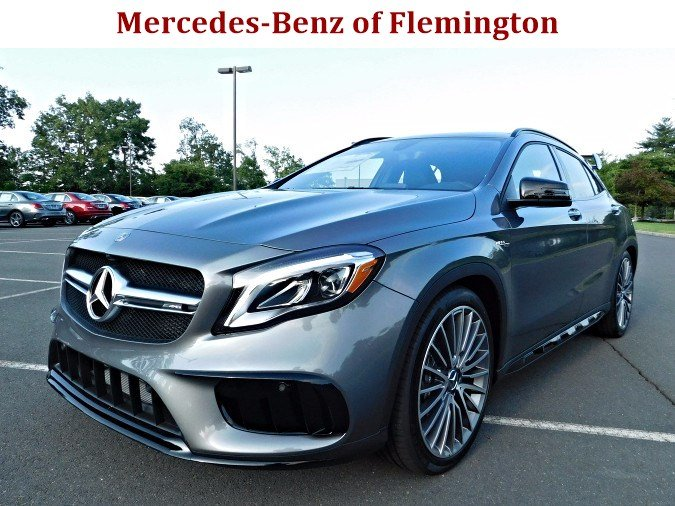 New 2018 mercedes benz gla amg gla 45 suv suv in for Flemington mercedes benz
