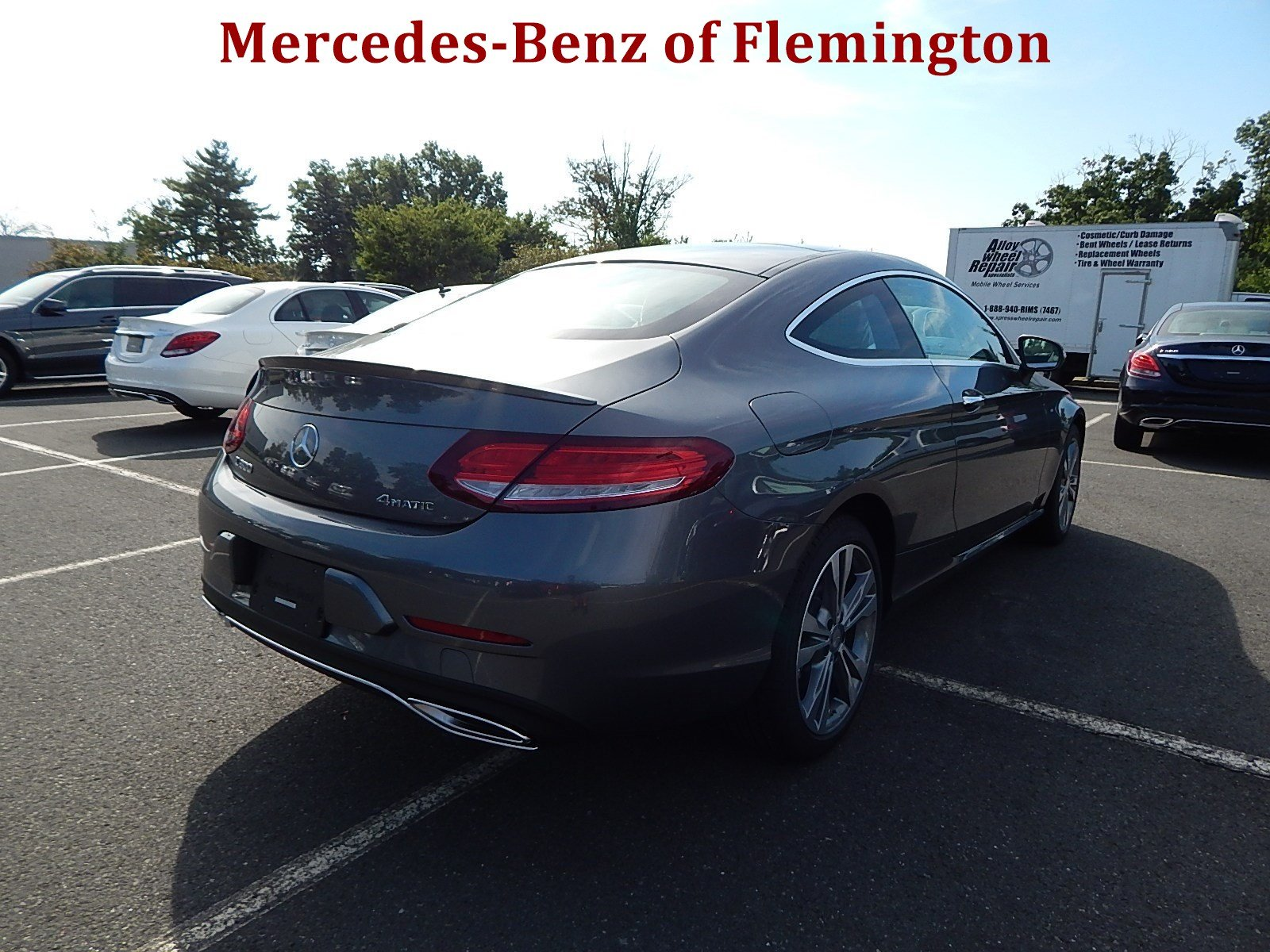 New 2017 mercedes benz c class c 300 coupe in flemington for Mercedes benz of flemington
