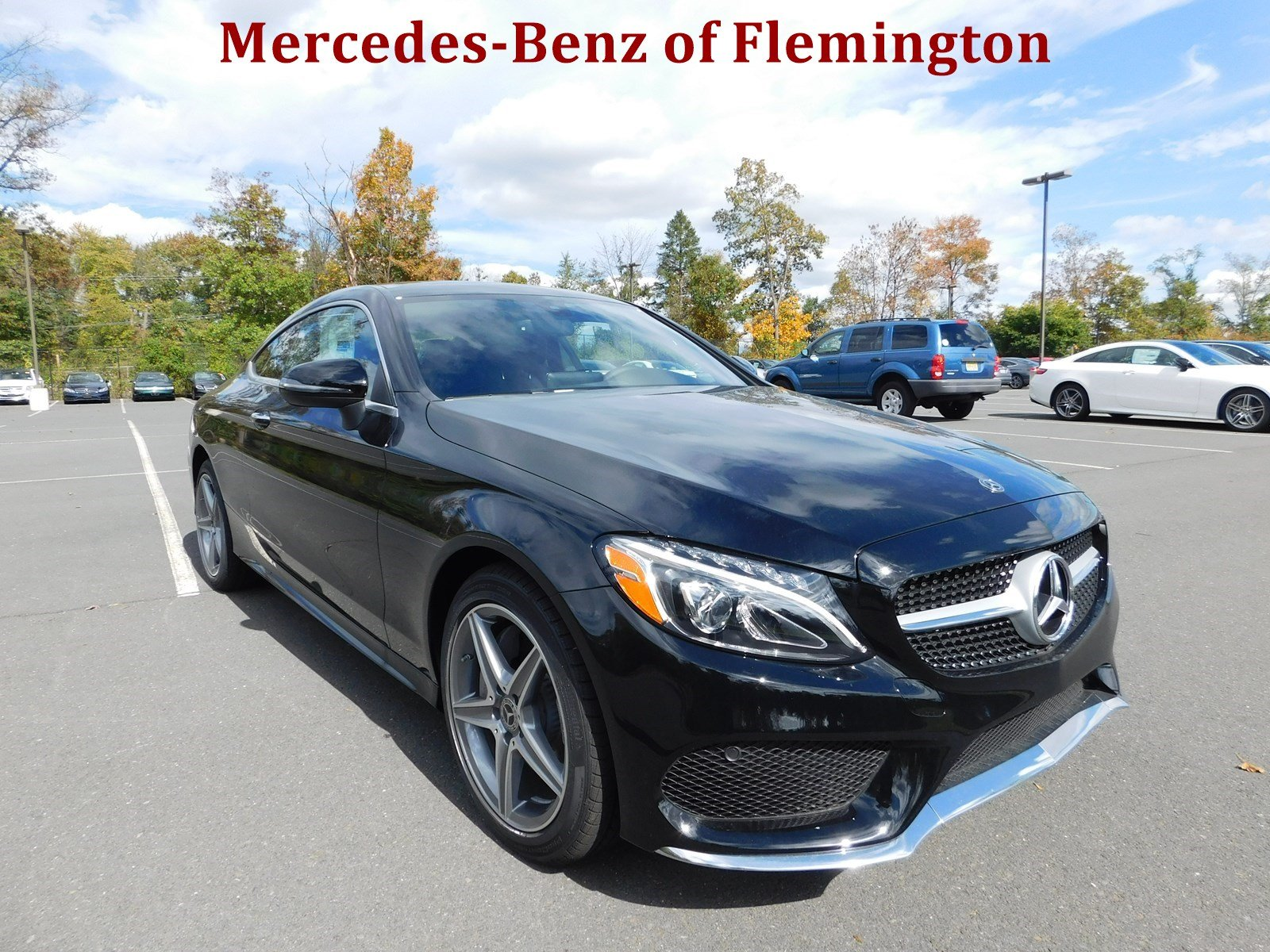 New 2018 mercedes benz c class c 300 sport coupe in for Mercedes benz of flemington