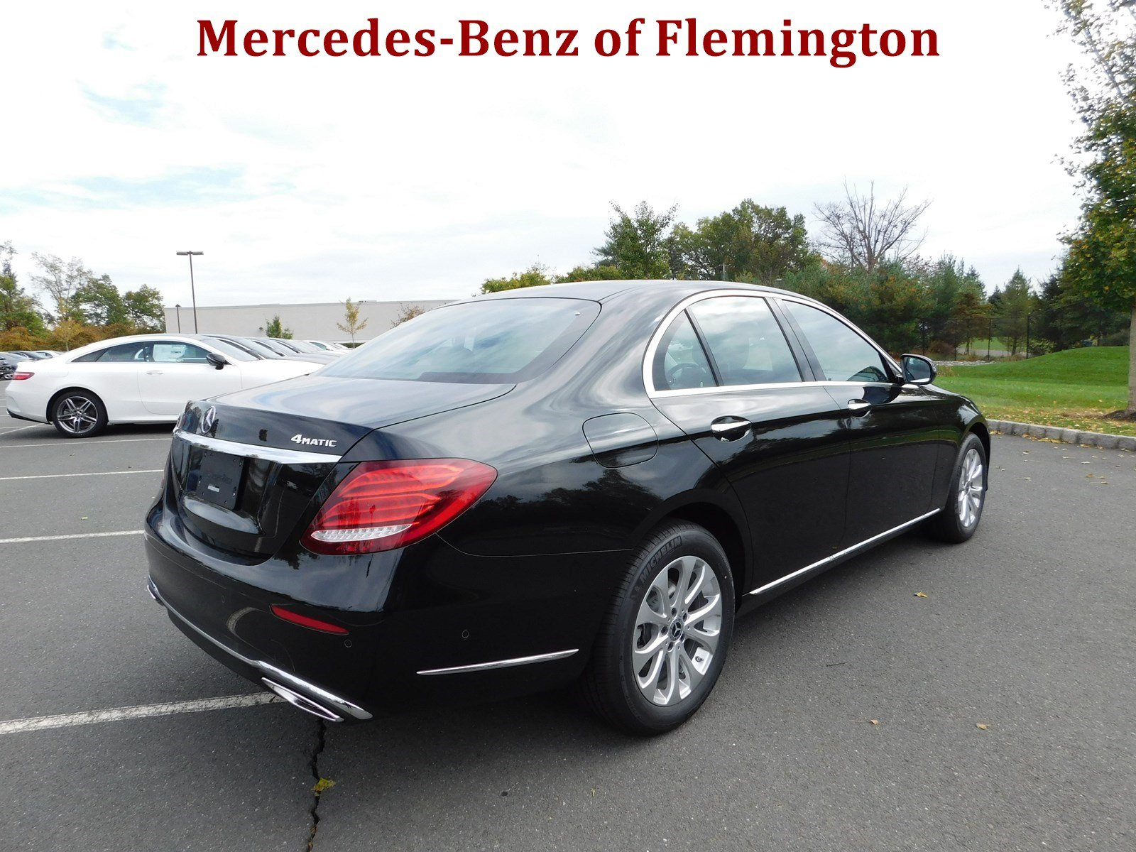 New 2018 mercedes benz e class e 300 luxury sedan in for Mercedes benz of flemington